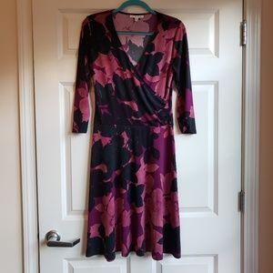 EUC CAbi Shadow Floral Dress